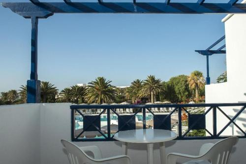 A balcony or terrace at Relaxia Olivina