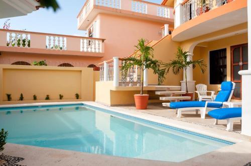 Бассейн в Righetto Vacation Rentals или поблизости