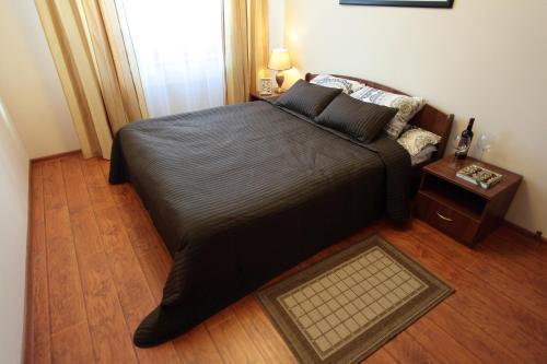 Кровать или кровати в номере Мини-Отель Бремен