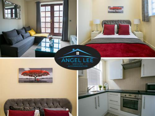 Book Today- Angel Lee Serviced Accommodation, Diego Birmingham, 1 Bedroom Apartment, Up to 4 Guests, Balcony & Free WiFi