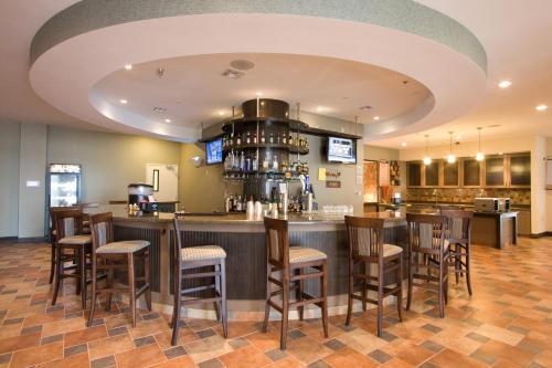 The lounge or bar area at Hilton Garden Inn South Padre Island