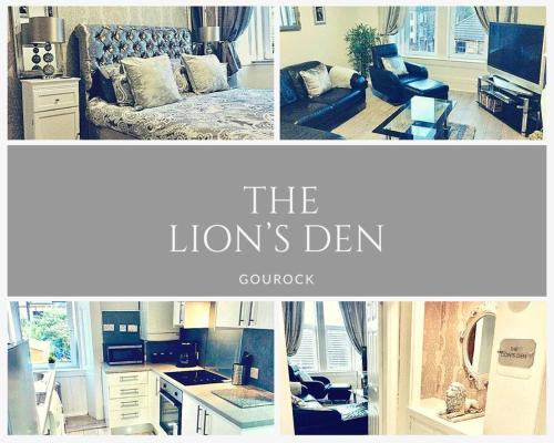 THE LION'S DEN ON ROYAL STREET