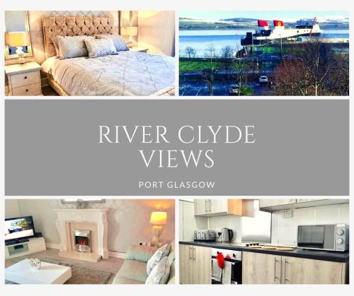 RIVER CLYDE VIEWS - PRIVATE & SPACIOUS APARTMENT