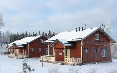 Himoseasy Cottages during the winter
