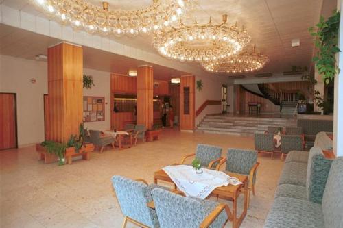Vstupní hala nebo recepce v ubytování Hotel Petr Bezruc