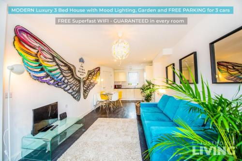 Liverpool House - Modern Town House - Close To Centre - FREE Parking