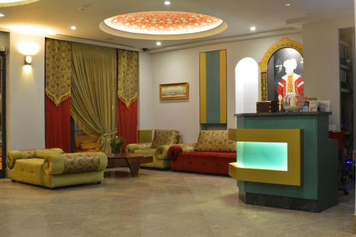 The lobby or reception area at Sultan Mehmed Hotel