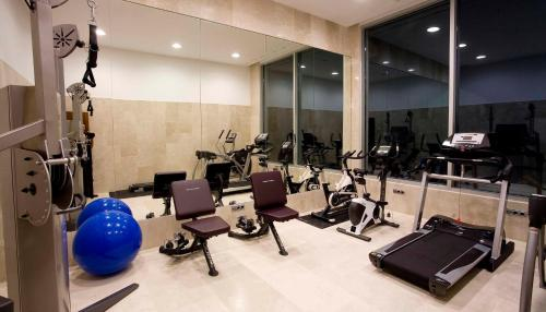 The fitness center and/or fitness facilities at Hotel & Spa Arzuaga