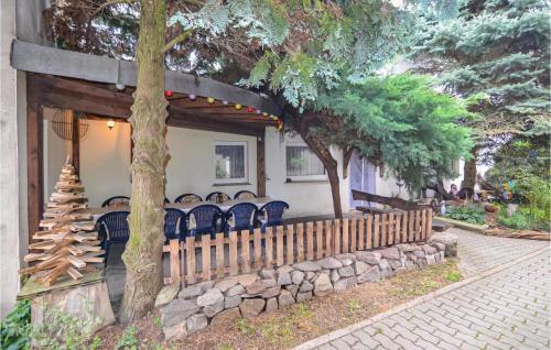 Ein Patio oder anderer Außenbereich in der Unterkunft Ferienhaus Dorfstrasse W
