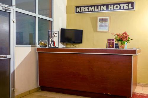 The lobby or reception area at Kremlin Hôtel