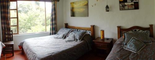 A room at Hostal Renacer