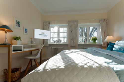 A room at Hof Norderlück - Das Ostseehotel unter Reet