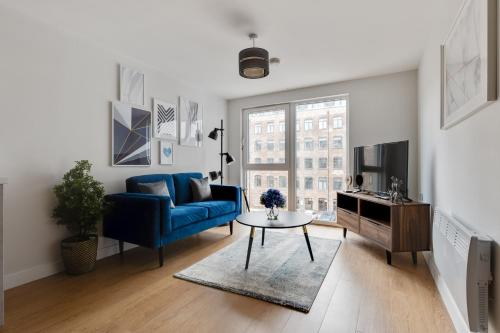 1 Bed Modern Apartment in a Converted Mill