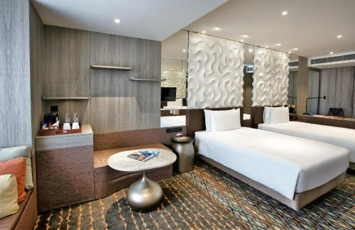 غرفة في Crowne Plaza Changi Airport (SG Clean)