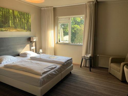 Een kamer bij Fletcher Hotel-Restaurant Het Witte Huis