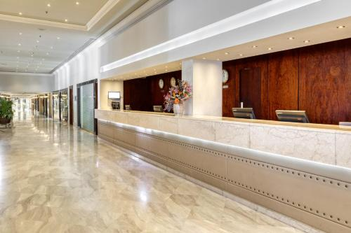 The lobby or reception area at The Landmark Nicosia