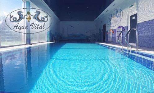 Bazén v ubytovaní Relaxcentrum Aquavital alebo v jeho blízkosti