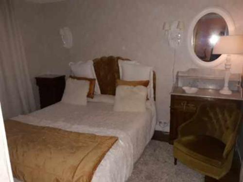 A room at Hotel Saint Louis