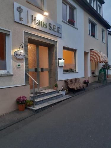 The facade or entrance of Haus S.E.E.