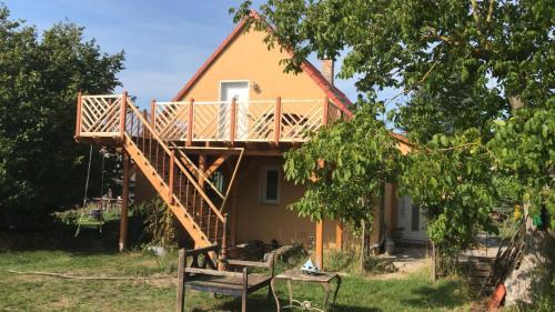 Ferienwohnung in der Uckermark am Oberuckersee OT Warnitz