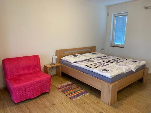 Pokoj v ubytování Apartmány Přítluky