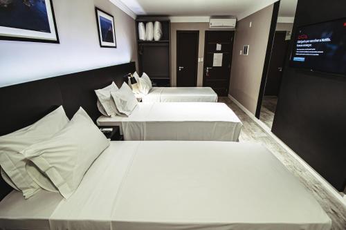 A room at Santa Inn Hotel Executivo