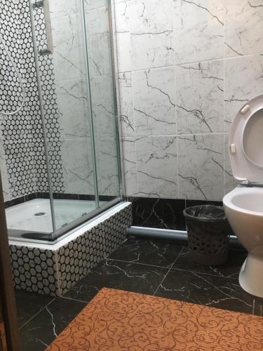 A bathroom at Царский Отель
