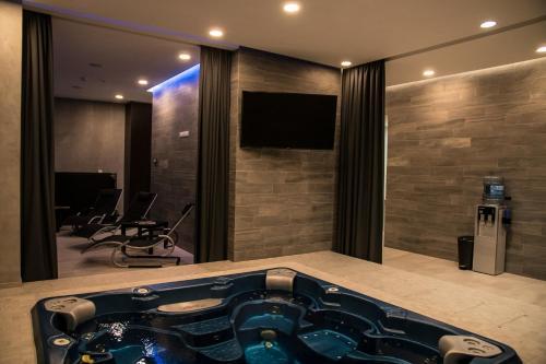 Ванная комната в Wellness Apartments Hamberger