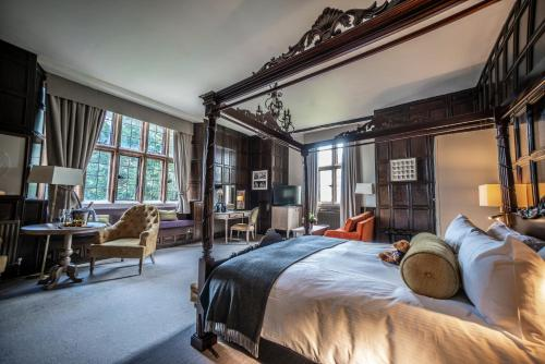 A room at The Billesley Manor Hotel
