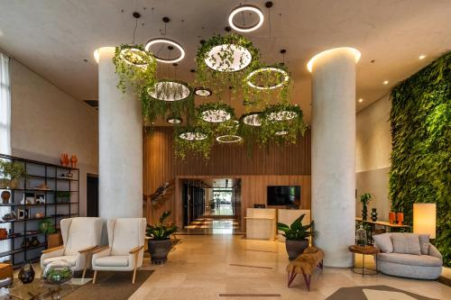 O lounge ou bar de Grand Mercure SP Itaim Bibi - Ex The Capital