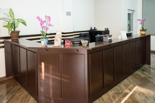 O lounge ou bar de Holambra Garden Hotel