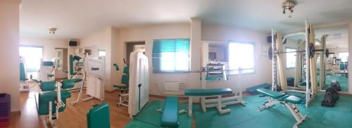 The fitness center and/or fitness facilities at Mansouri Mansions Hotel