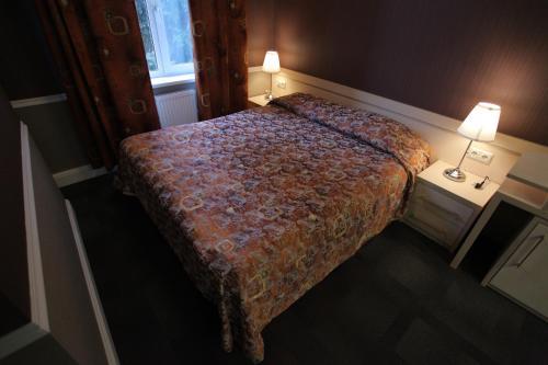 A bed or beds in a room at Novie Gorki