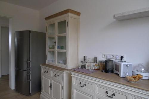 Küche/Küchenzeile in der Unterkunft Ferienwohnung Bellaria