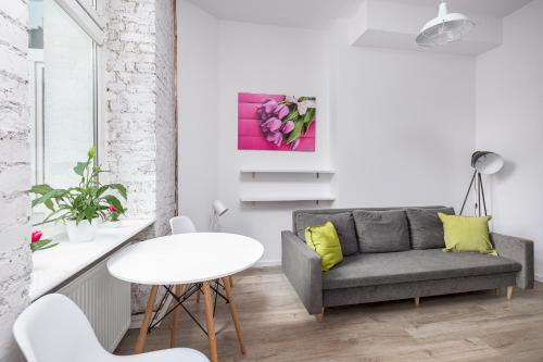 Hol lub bar w obiekcie Tulip Apartments - studio nr 1 - Śmiałego 7 m 3