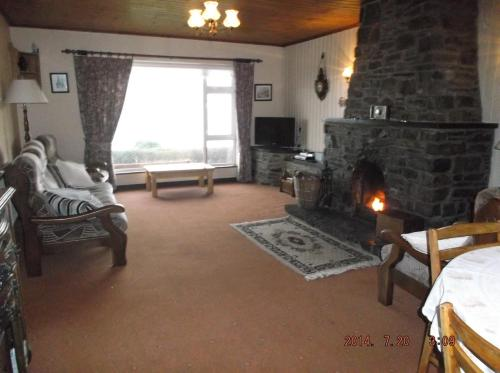 The lobby or reception area at Rose Cottage
