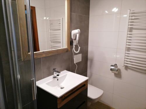 A bathroom at Willa U Kośle 2