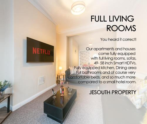 JESOUTH LUXURY HOMES - Netflix, Free WIFI