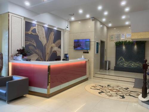 Lobby/Rezeption in der Unterkunft Chunshengjiang Hotel