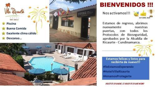 Certificat, récompense, panneau ou autre document affiché dans l'établissement Hotel Villa Ricaurte