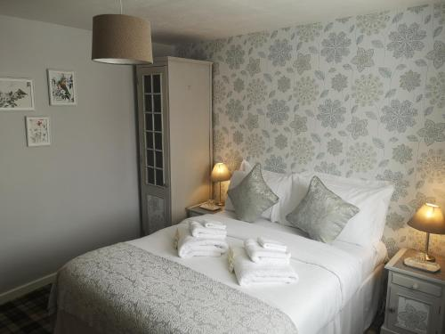 A room at The Kings Arms Inn