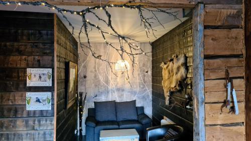Loungen eller baren på Dalens Gård Mountain Lodge