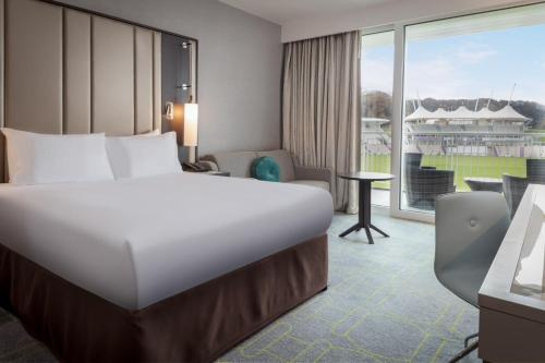 A room at Hilton at the Ageas Bowl, Southampton