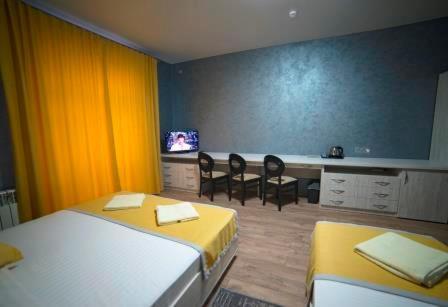 A room at Rivne Hostel