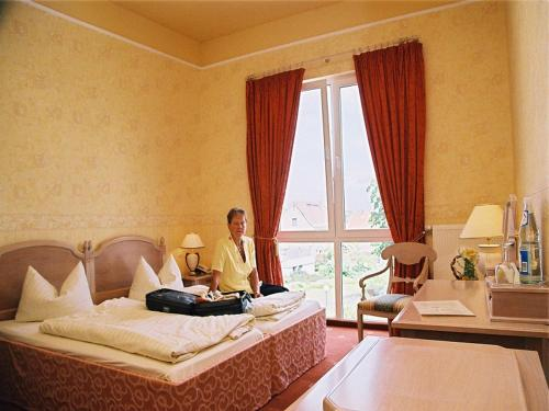 Gäste, die in der Unterkunft Kurpark Hotel Bad Lauchstädt übernachten