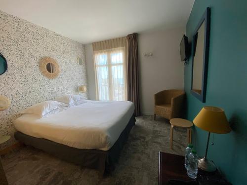 Hébergement de l'établissement Hôtel Les Baigneuses de Biarritz