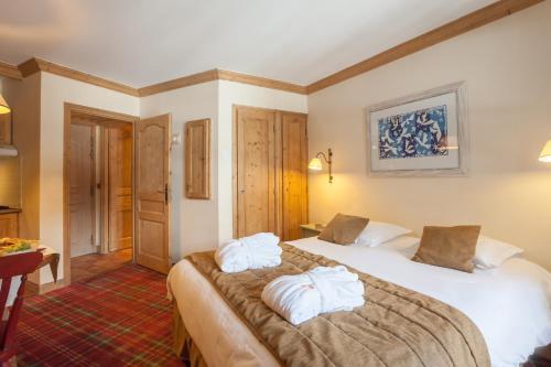 A room at Résidence Pierre & Vacances Premium Arc 1950 Le Village