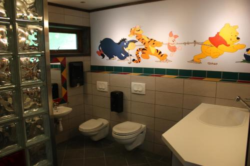 A bathroom at Pluscamp Sandvik