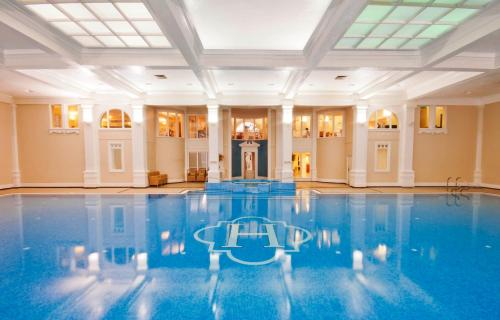 The swimming pool at or near Champneys Henlow