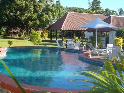 Бассейн в Gecko's Resort или поблизости